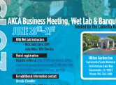 2015 AKCA Business Meeting, Banquet & KHA Wet Lab